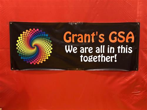 Grant's GSA We are all in this together! banner