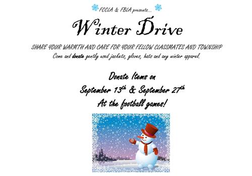 Winter Drive Flyer