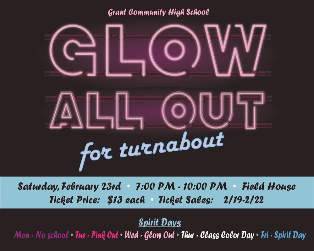 Glow all out for turnabout