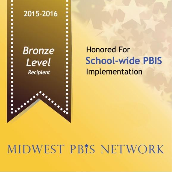 PBIS Bronze Level Award